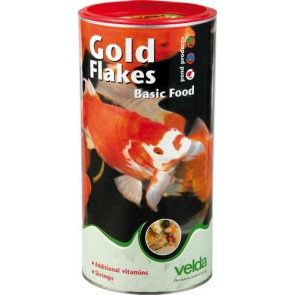 Velda Gold Flakes Basic Food 1250ml